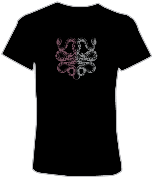 Sunwheel Psychedelic T-Shirt (Front View)